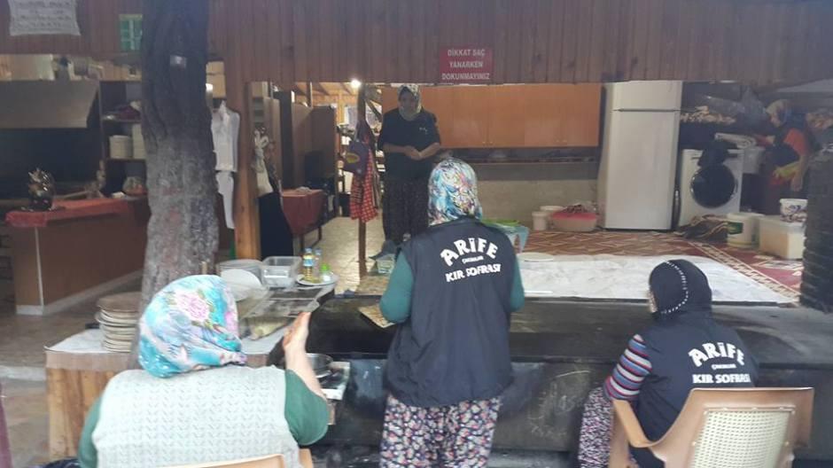 Arife Kır Sofrası Çakırlar Kahvaltı Yerleri Antalya (8)
