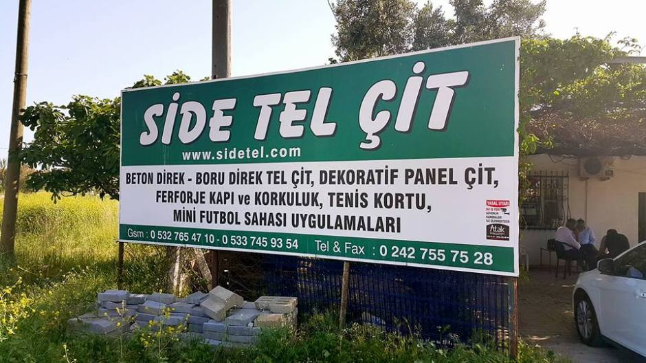 Side Tel Çit Manavgat (2)