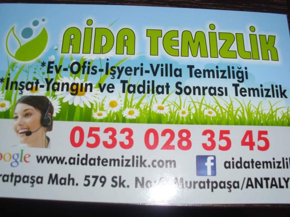 Antalya Temizlik  - 0533 0283545 Aida Temizlik Antalya Banka Temizlik Antalya Kahvehane Temizlik (1)