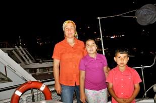 Buzkıran'lar Mutlu Günlerini Teknede Kutladı… (21)