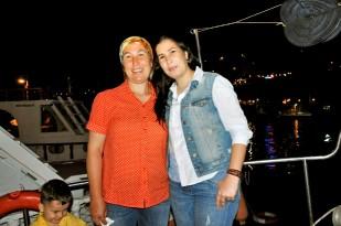Buzkıran'lar Mutlu Günlerini Teknede Kutladı… (23)
