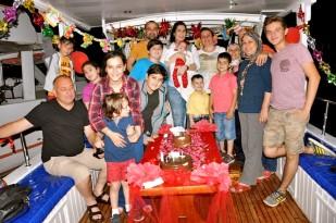Buzkıran'lar Mutlu Günlerini Teknede Kutladı… (35)