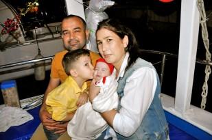 Buzkıran'lar Mutlu Günlerini Teknede Kutladı… (4)